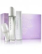 Zestaw Pur Blanca perfumy roletka kulka dezodo