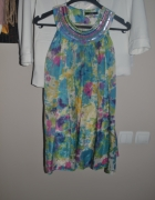 Sukienka wesele święta kwiaty George 9 10 lat 134cm 128cm 140cm...