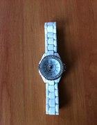 Sinobi super biały zegarek