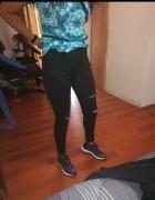 Spodnie z wysokim stanem nowe dopasowane 30