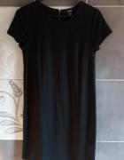 Czarna sukienka XS damska