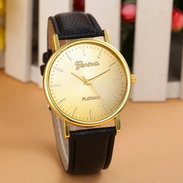 Zegarki Zegarek damski Geneva Platinium złoty