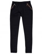 Spodnie damskie z kieszeniami ze wstawkami m