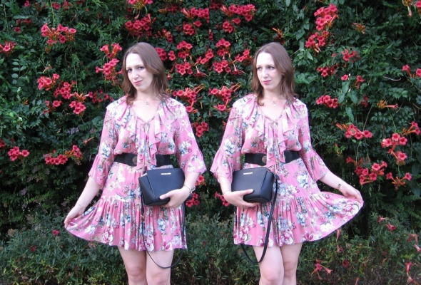 Blogerek Sukienka dla romantyczki