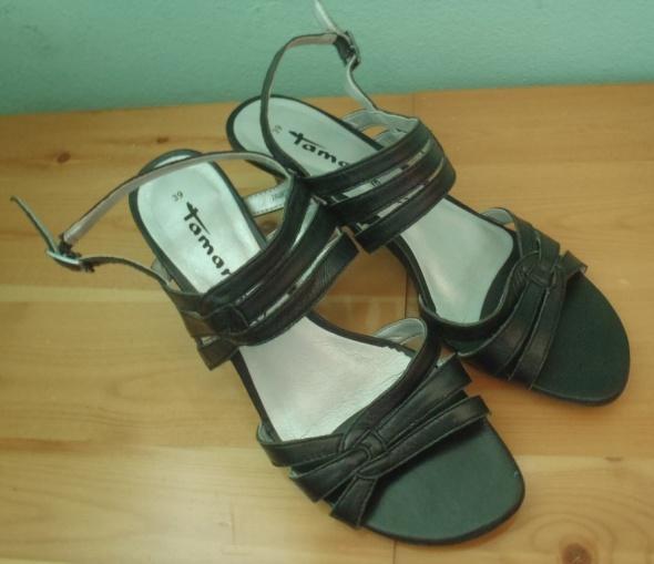 Skórzane sandałki 39...