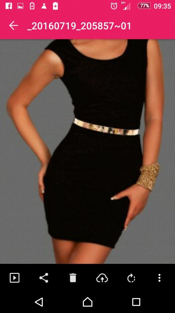 Suknie i sukienki Nowa czarna sukienka s