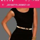 Nowa czarna sukienka s