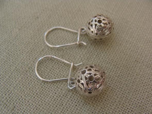 Kolczyki Kolczyki srebrne kulki
