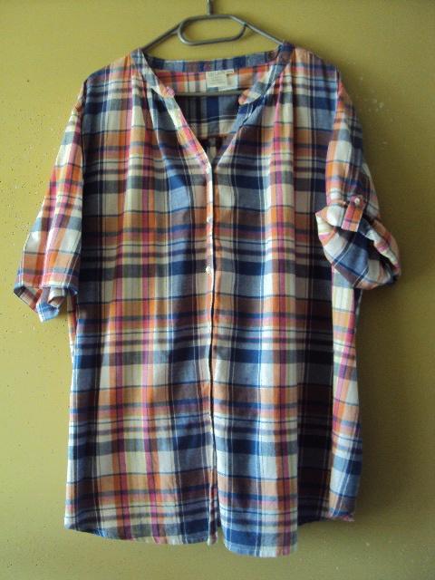 Koszule bawełniana koszula w kratkę