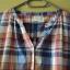 bawełniana koszula w kratkę