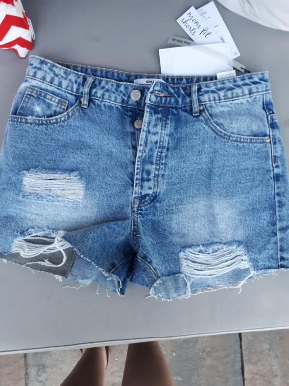 Spodenki Spodenki jeansowe Sinsay