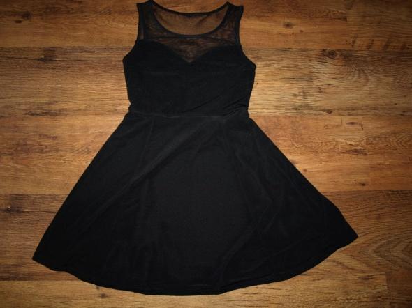 Suknie i sukienki Czarna z siateczką XS