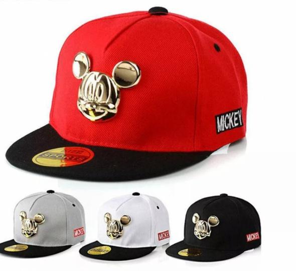 Hit czapka Mickey Złota nowa