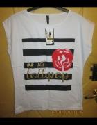 Śliczna tunika z różą w r 44 zobacz