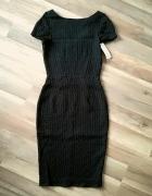 Closet czarna ołówkowa sukienka zamek M L...