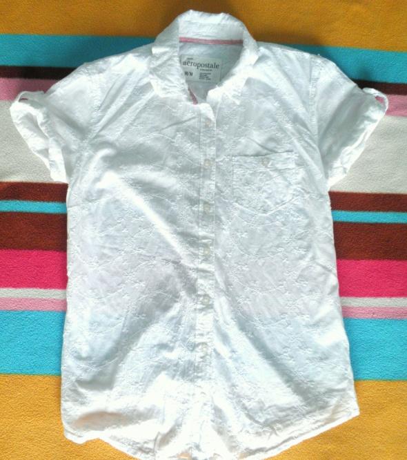 Białe koszule Aeropostale S M 36 38 3x...