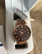 elegancki zegarek damski Lorus RRS84UX9 rose gold
