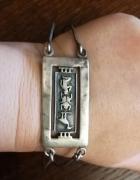 Bransoleta z Egiptu srebro 925