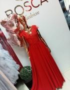 Czerwona maxi sukienka