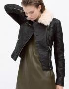 Ramoneska firmy Zara skóra XS...