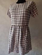 Motel NOWA sukienka w KRATKĘ 36 S...