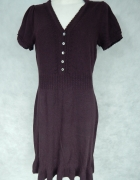 Debenhams Ciepła sukienka z dzianiny 38 40...