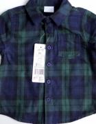 Nowa koszula w kratkę rozmiar 86