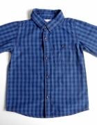Koszula na guziki niebieska rozmiar 86 Reserved