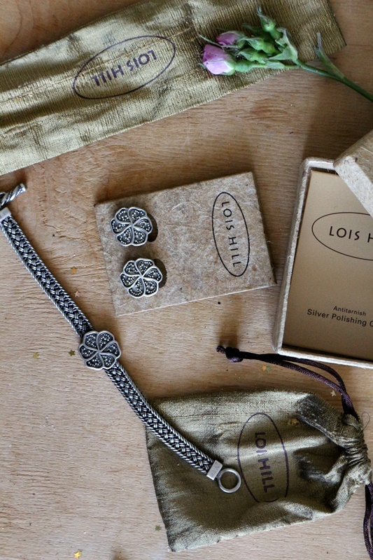 srebrny markowy komplet 925 Lois Hill