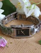 Oryginalny srebrny zegarek DKNY
