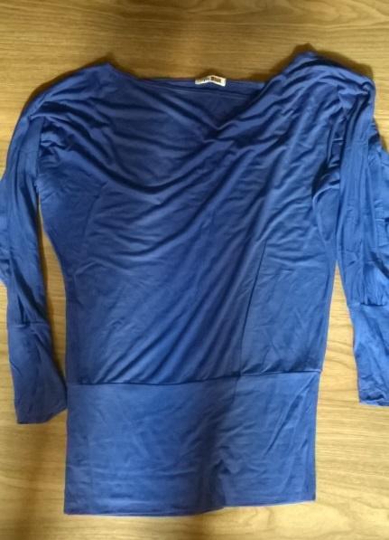 Bluzki chabrowa ze ściągaczem