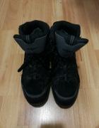 Buty męskie zimowe czarno szare 42 Shamp