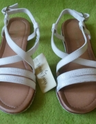 Nowe białe sandały Jenny Fairy 36 CCC...