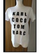 karl coco tshirt M nowy