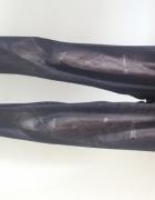 Legginsy marmurkowe jak jeansy hit modne XS S 34
