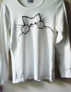 Bluzka z kociakiem