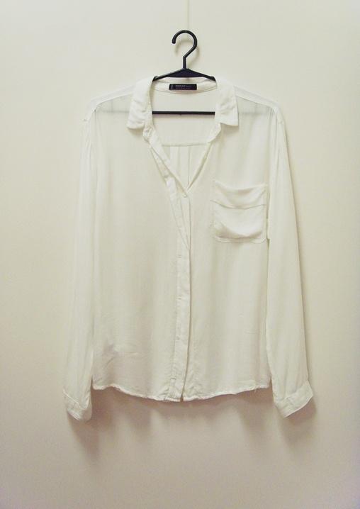 Mango koszula wiskoza biała 34 XS...