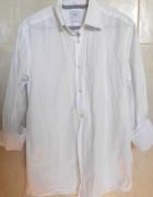 Four X męska biała klasyczna koszula elegancka