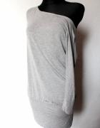Szara tunika sukienka r S Zara