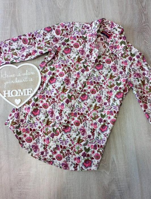 Koszule Koszula w kwiaty