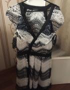 Sprzedam piękną nową koronkową francuską sukienkę rozm L...