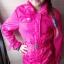 Różowa wiosenna kurtka 146 cm...