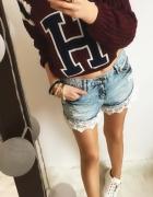 Bordowy Sweter Damski H rozmiar M