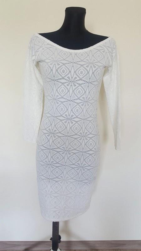 Suknie i sukienki koronkowa ołówkowa sukienka