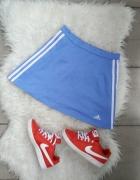 spódnica Adidas mini niebieska rS adidas...