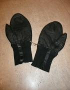 rękawiczki skóra duże z jednym palcem