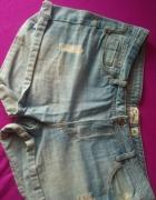 Spodenki jeans...