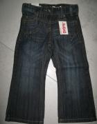 NEXT spodnie jeansy dziewczęce BootCut roz 98