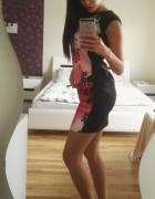 Elegancka sukieneczka w kwatki