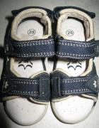 LICO granatowe sandały chłopięce roz 25 skóra